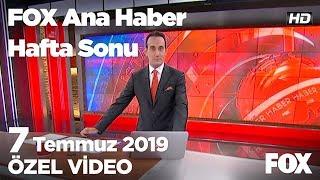 Erdoğan: Faizleri indir dedik, indirmedi... 7 Temmuz 2019 FOX Ana Haber Hafta Sonu