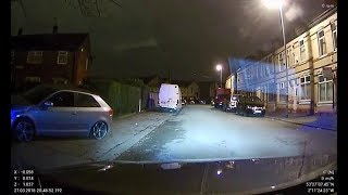 Audi A3  manchester police chase