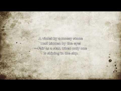 A Love Poem - William Wordsworth