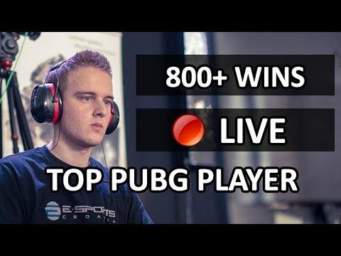 Day 188 | 🔴 [ENG] PUBG 800+ Wins | 1 Man Squads Life
