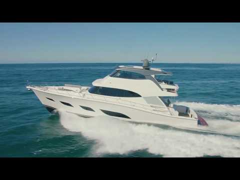 First Look at the new 30+ Knots Riviera 68 Sports Motor Yacht