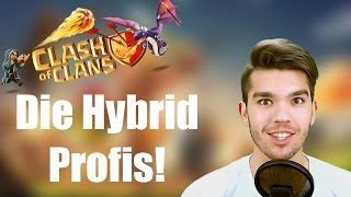 CLASH OF CLANS: Die Hybrid Profis ✭ Let's Play Clash of Clans [Deutsch/German HD]