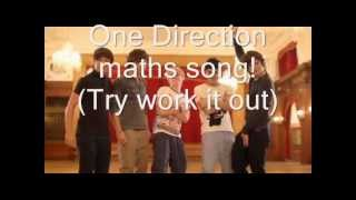 One Direction - Maths song