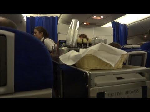 BA Boeing 777 Economy. Orlando - London