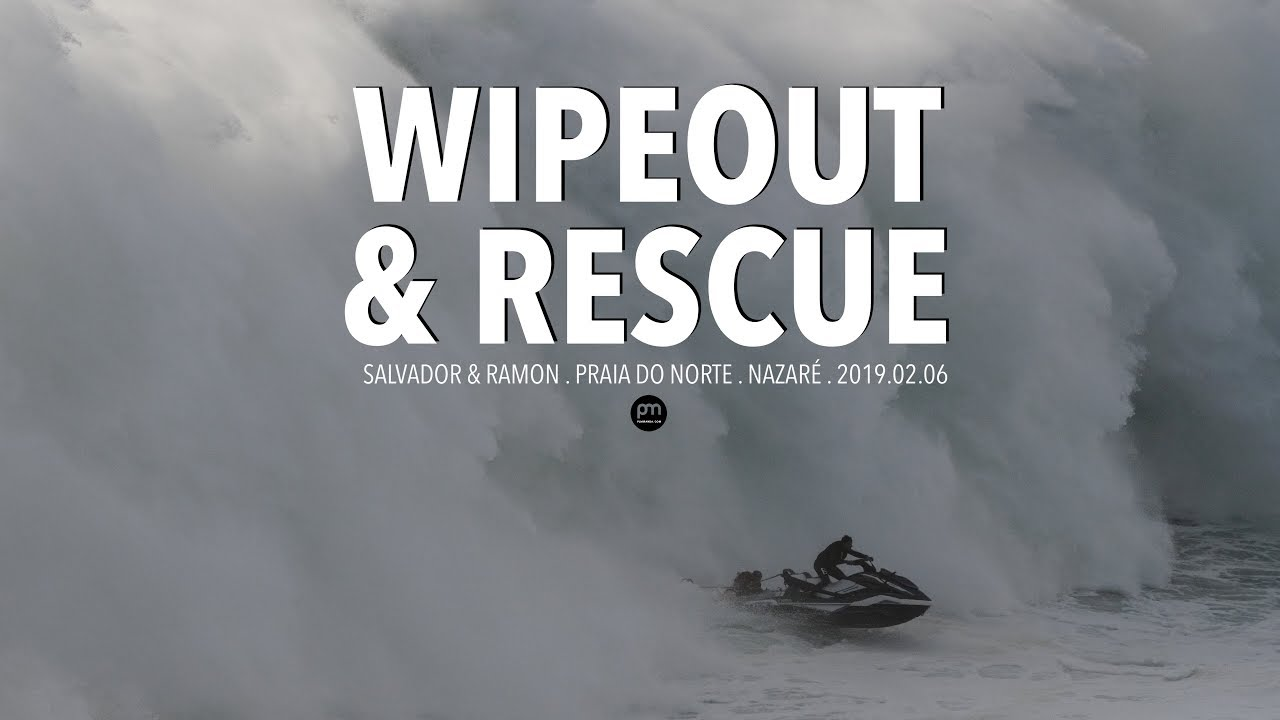 Wipeout & Heroic Rescue @ Nazaré, Portugal - 2019.02.06