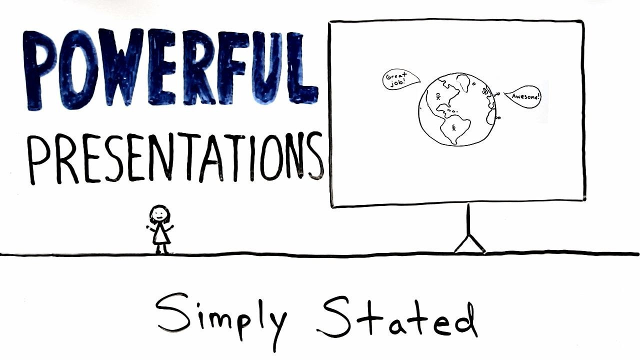 How To Give An Awesome Powerpoint Presentation Whiteboard Animation Explainer Video Youtube
