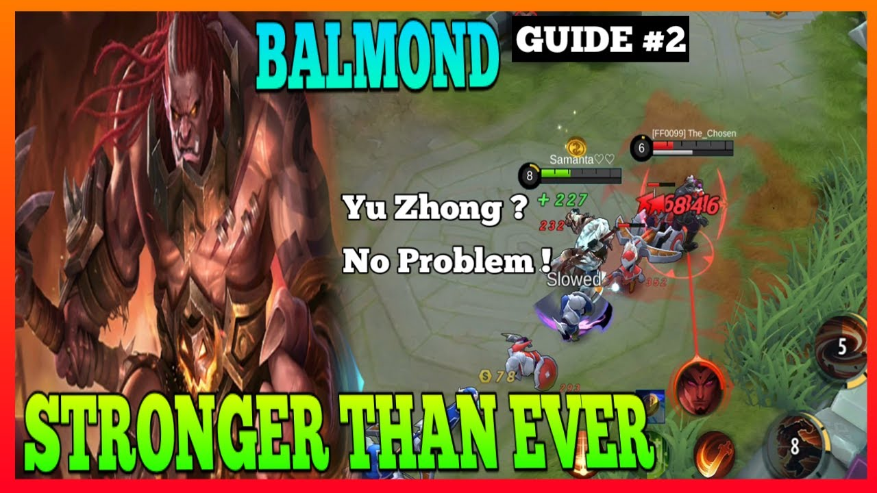 Balmond Guide 2 | Don't Underestimate the New Balmond | Master the Basics | Balmond Gameplay | MLBB