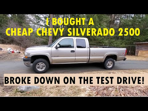 I Bought A Cheap Silverado And It Broke Down On The Test Drive!