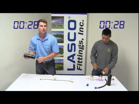 Lasco PUSH Fittings: Push vs Glue