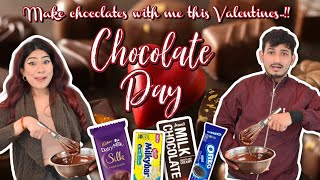 Let's make Chocolates for our Loved Ones ** #valentinesdayweek | Anishka Khantwaal