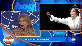 ¿Está vivo Juan Gabriel? | Mhoni Vidente | Hoy