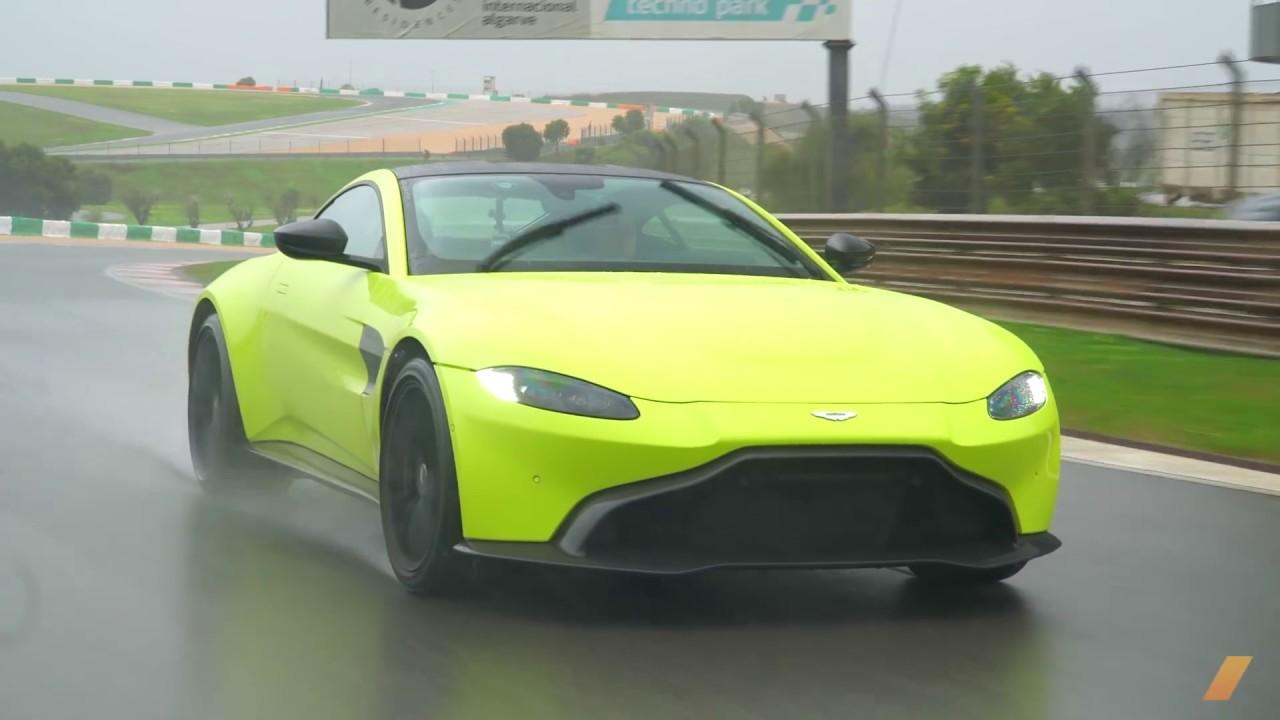 Aston Martin Vantage 2019 Test Drive Youtube