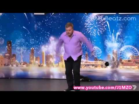 Australia's Got Talent 2012 - Kyle Sandilands Shows Skills With Nunchuks