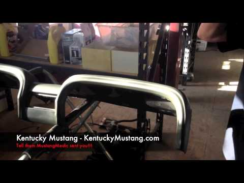Kentucky Mustang Air Dash Pad Painting Your Dash Bob's 1969 GT Convertible - Day 110 - How To Videos