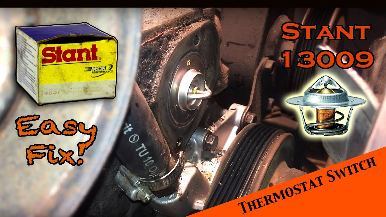 changing the thermostat in an amc 258 - 4 2 l