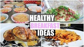 Healthy + Paleo Breakfast Ideas! (Riced Cauliflower Hash, Sweet Potato Hash & Paleo Pancakes!)