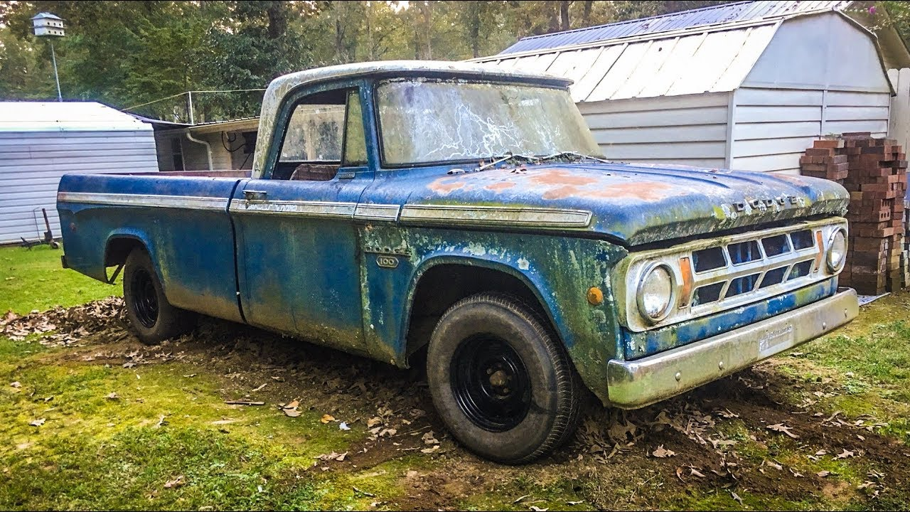 ABANDONED Truck Sitting for 24 Years UPDATE!