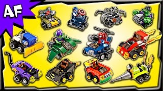Every Lego MIGHTY MICROS Sets 2016 - Complete Collection!