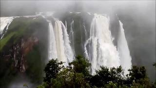 Jog Falls Live 2018 | India's highest waterfall |Kerala flood | Kodagu flood