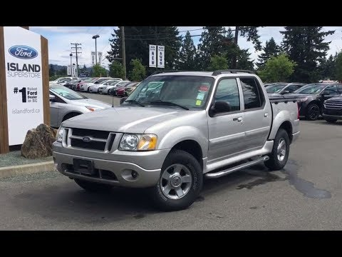 2004 Ford Explorer Sport Trac XLT Adrenalin, One owner, Accident Free Review |Island Ford