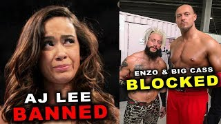 10 Wrestlers Banned from WWE