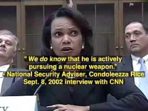 Condoleezza Rice  Liar, Secretary of State, War Criminal pt2