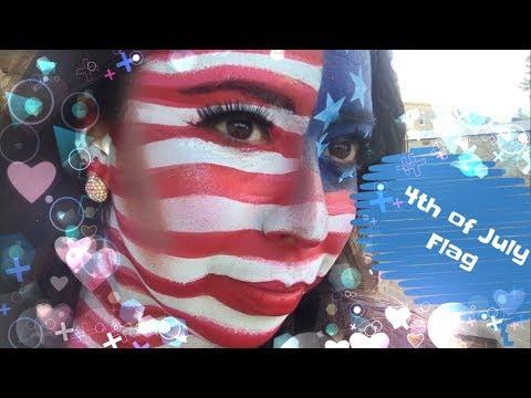 4th Of July Flag Full