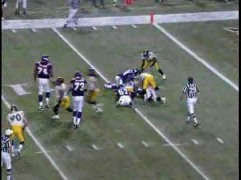 285a4d04ec6 Week 14 2005  Pittsburgh Steelers   Minnesota Vikings Highlights ...