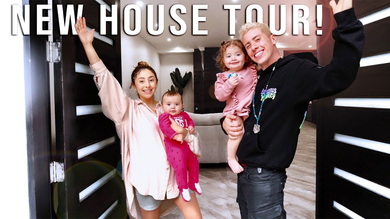 OUR OFFICIAL NEW HOUSE TOUR!!! **EXCITING**