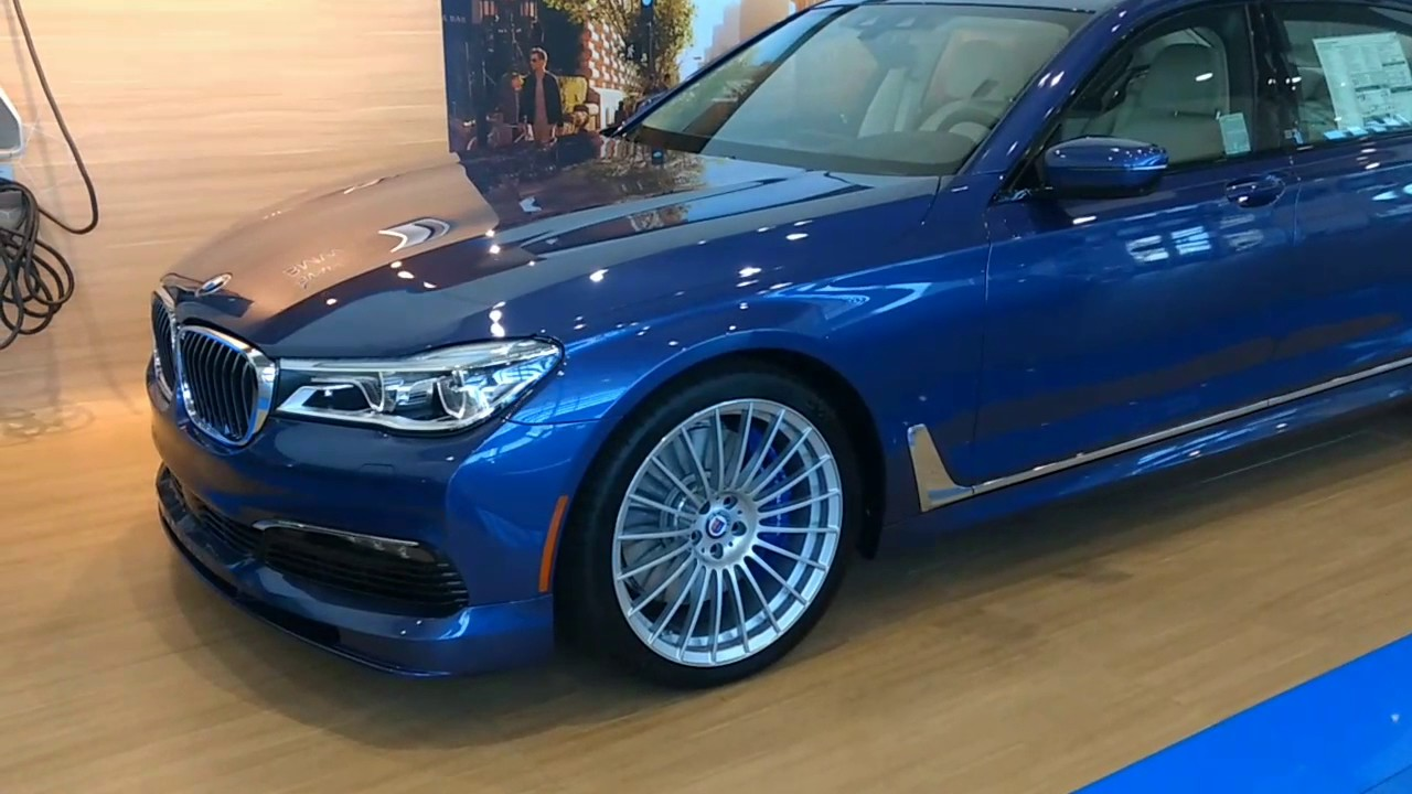 2018 BMW Alpina B7 quick look - YouTube