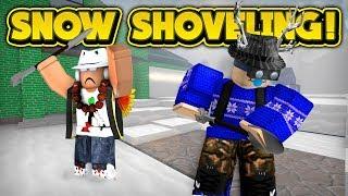 ROBLOX SNOW SHOVELING SIMULATOR
