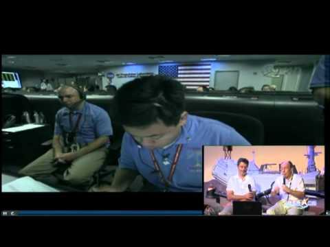 Atterissage du rover Curiosity sur Mars