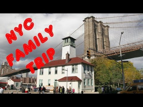 New York Family Trip - Day 1 NO AUDIO see newer upload