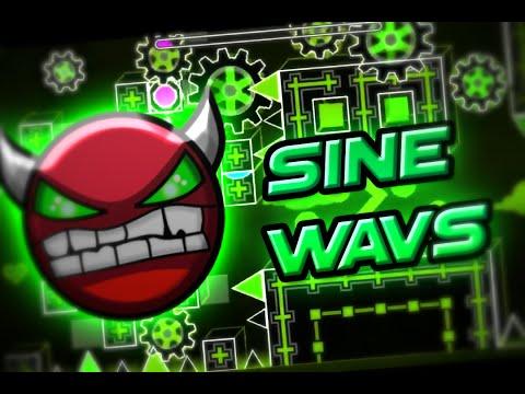 Geometry Dash | Sine Wavs | Demon 10★ | On Stream | By: TheRealDorami |
