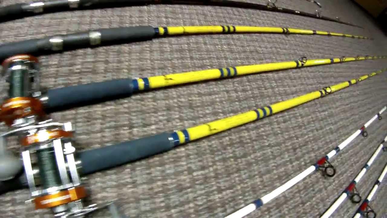 Catfish rods youtube for Cat fishing pole