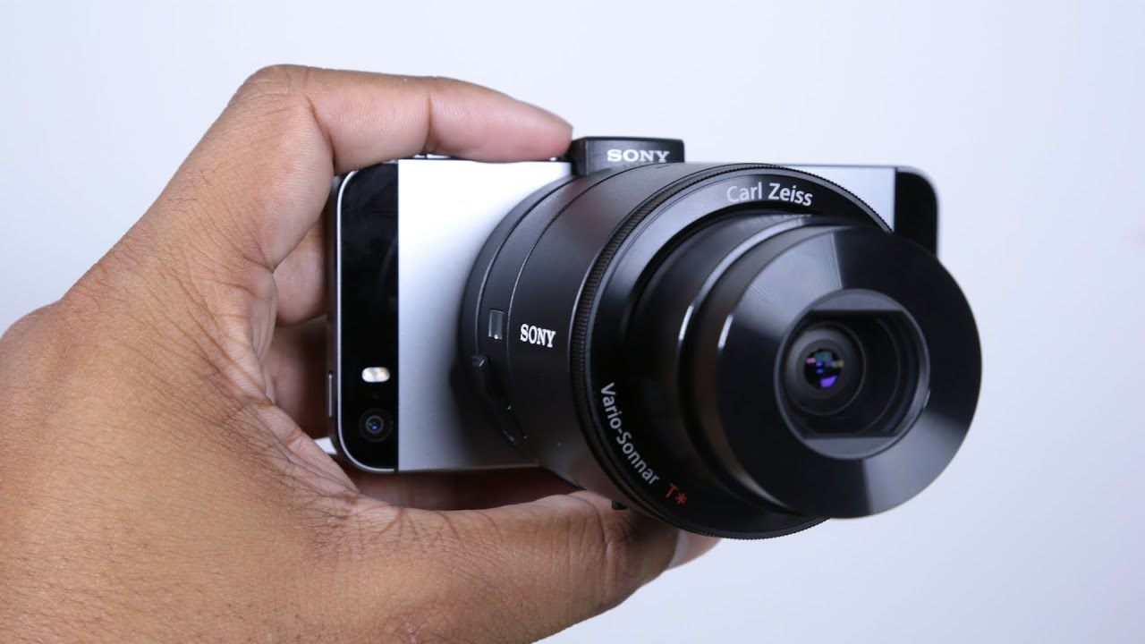 Sony QX100 iOS/Android Camera Lens Unboxing - YouTube