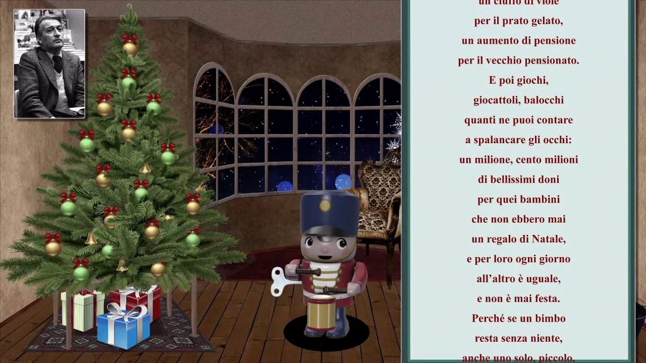 Poesia Natale Rodari.Poesia Un Abete Speciale Di Gianni Rodari Youtube