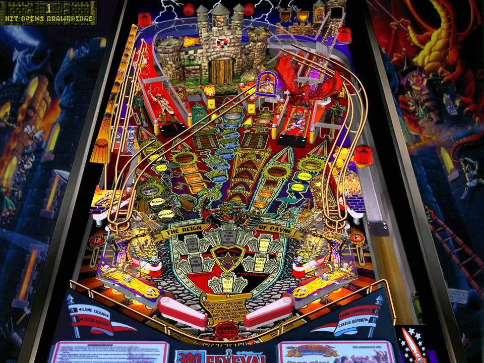 Visual Pinball: Medieval Madness