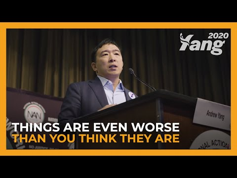 Things Are Even Worse Than You Think They Are | Andrew Yang at National Action Network