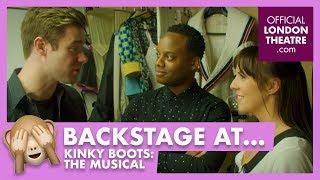 Backstage tour: Kinky Boots