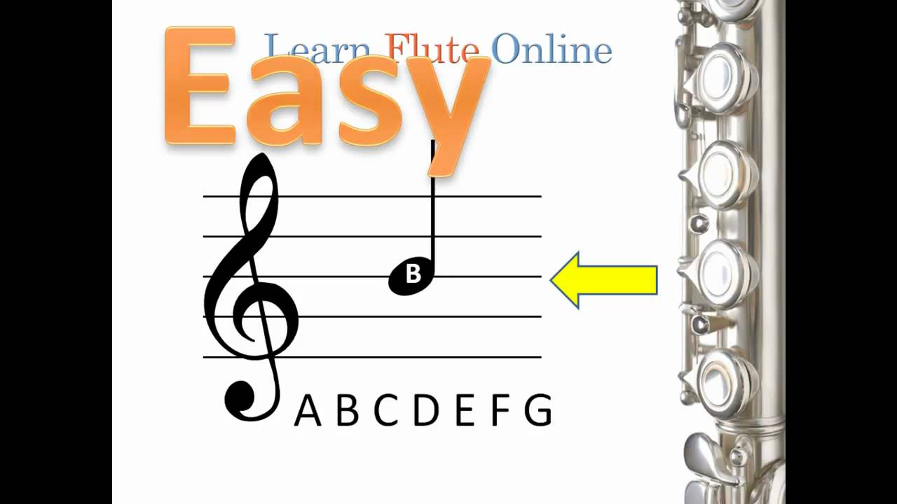 music flute learn reading note read