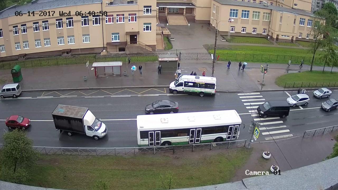 Авария в Красном Селе 14.06.17