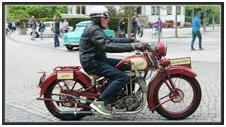 14. Oldtimer Motorradtreffen in Bad Schmiedeberg 2018