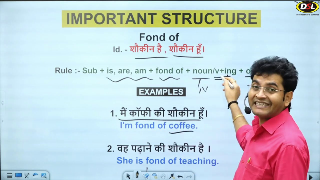 Spoken Structure // Best Way to Speak English Fluently by Dharmendra Sir
