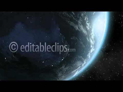 Earth Sunrise Over Australia CGI HD