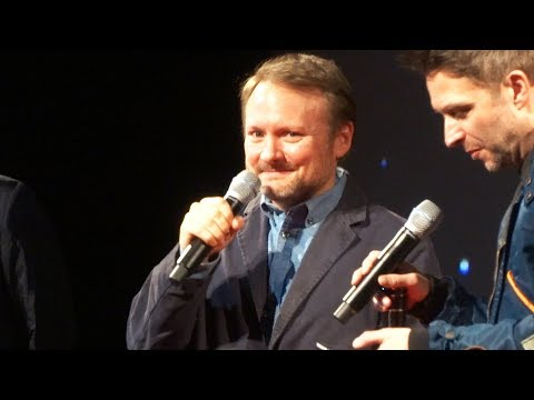 "Rian Johnson introduces ""Star  rian johnson"
