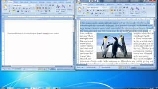 Online Video Tutorial - ECDL Module 3 Tutorial 6 Microsoft Word