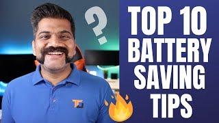 TOP 10 Tips For Battery Saving - Longer Battery in Smartphones!!!????????????