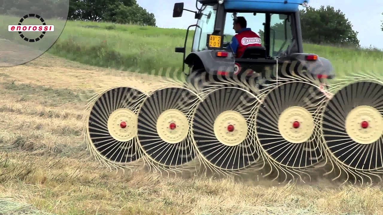 Enorossi Hay Rakes Photos and Videos | Carver Equipment