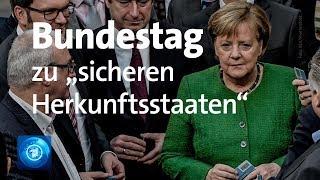 LIVE: Bundestag zu Asylrecht und Linksextremismus